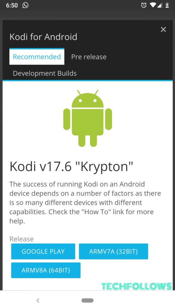 How to install Kodi on Android?