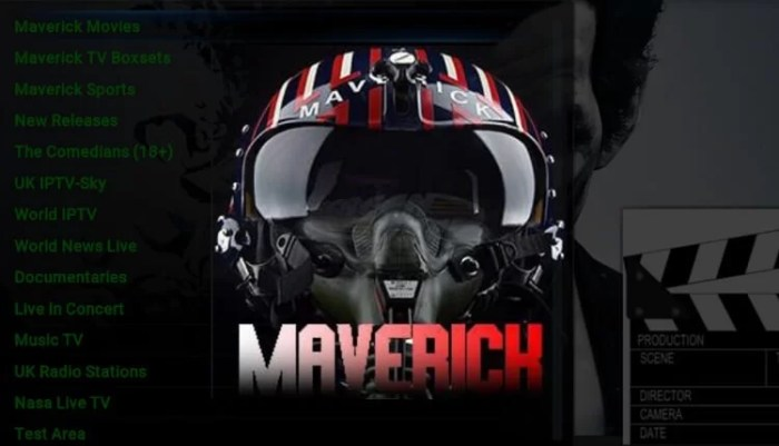 Maverick TV Kodi Addon