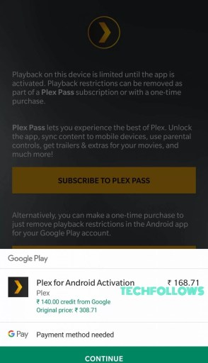Plex App for Android