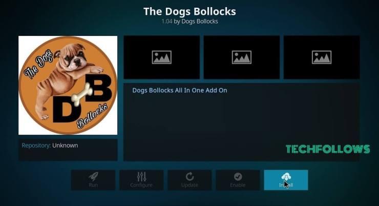 The Dogs Bollocks Addon