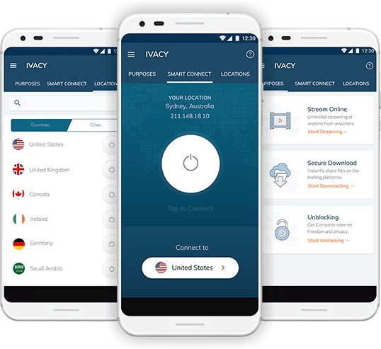 Ivacy VPN for Android