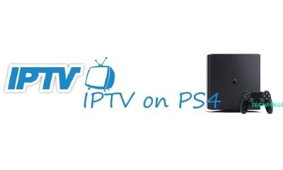 IPTV on PS4