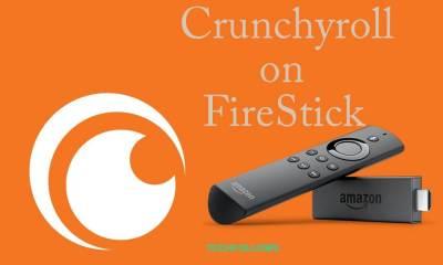 Crunchyroll on FireStick
