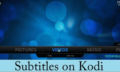 Subtitles on Kodi