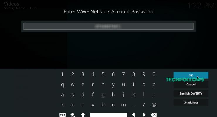 WWE Network on Kodi