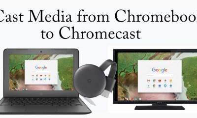 Chromebook to Chromecast
