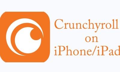 Crunchyroll iOS