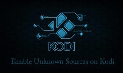 Enable Unknown Sources on Kodi