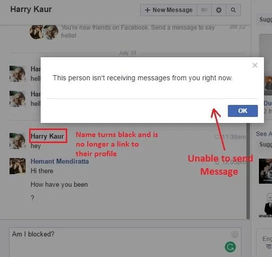 How to block someone from sending messages on facebook