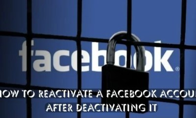 How to Reactivate Facebook Account (2)