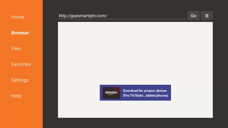How to install GSE IPTV on Firestick?