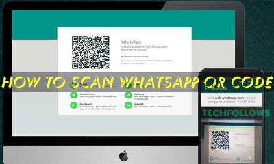 Scan Whatsapp Web QR Code (