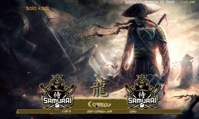 Samurai Build on Kodi