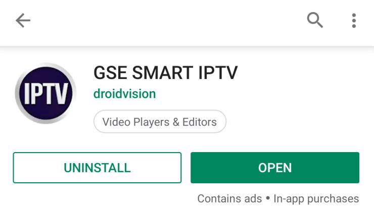 How to Chromecast GSE Smart IPTV to TV?