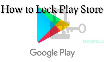 Lock Play Store