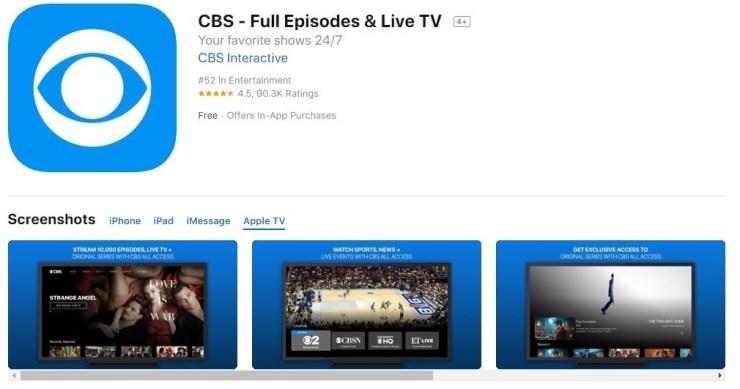How to install CBS on Apple TV? [2019] - Tech Follows