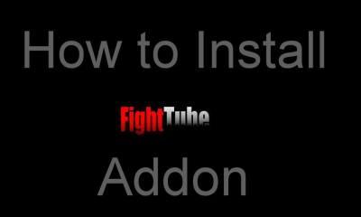 Fight Tube Kodi Addon