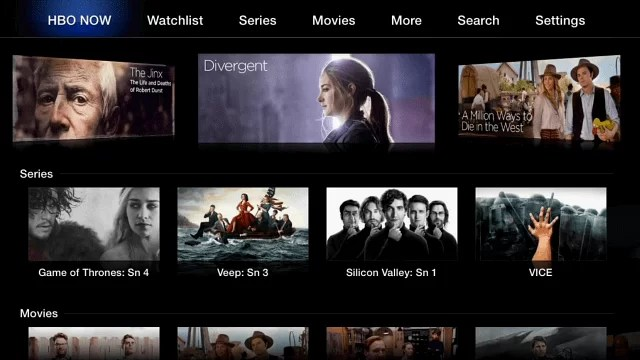 HBO GO on Apple TV