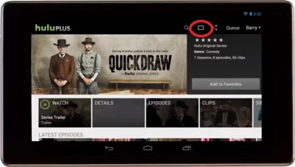 Hulu on Chromecast