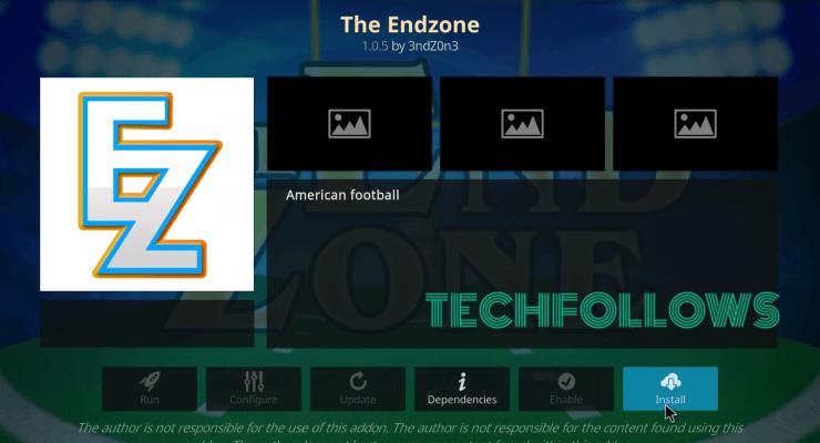 Download The Endzone Addon