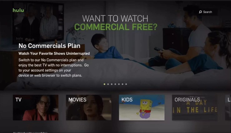Hulu for Apple TV