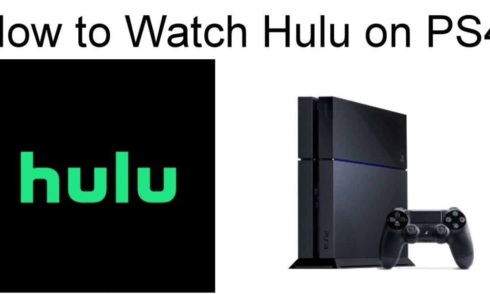 Hulu on PS4