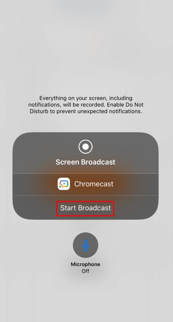 Chromecast Instagram