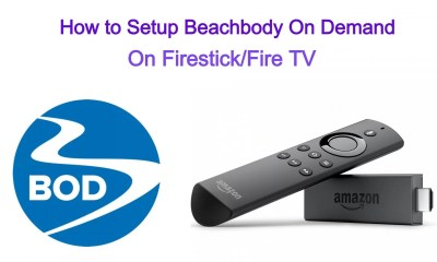 Beachbody on Demand on Firestick