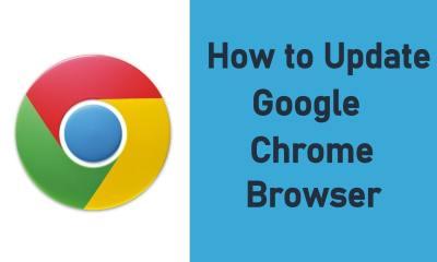Update Google Chrome Browser