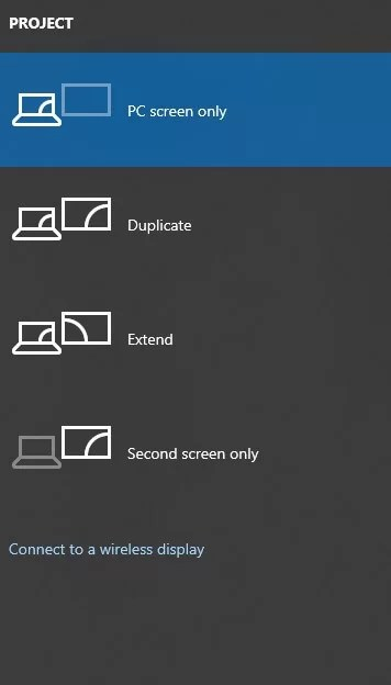 Mirror your PC screen on Roku