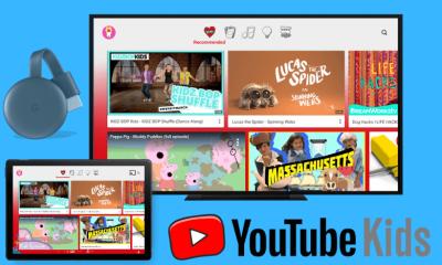 Chromecast YouTube Kids