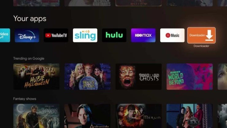 Sideload Apps on Chromecast With Google TV using Downloader