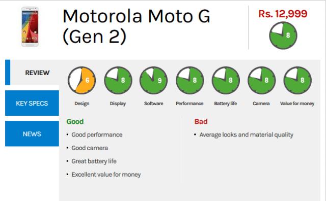 moto g2