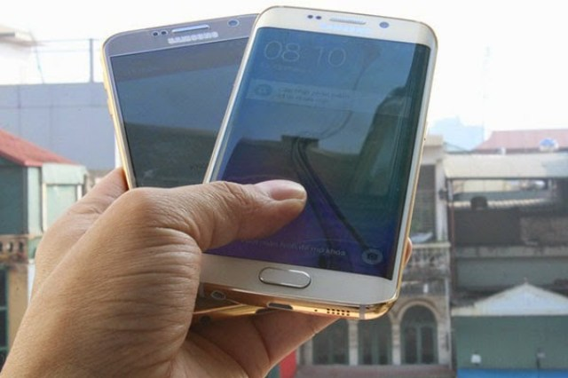 Samsung-Galaxy-S6-24K-Gold-Plated