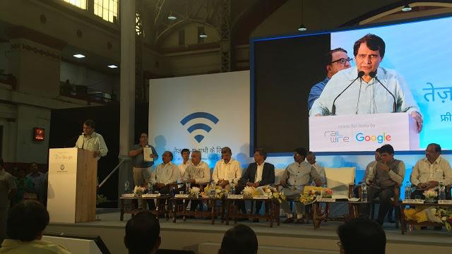 RailWire-RailTel-Google-Public-WiFi-Mumbai-Central-Suresh-Prabhu
