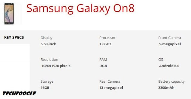 samsung-galaxy-on8-specs