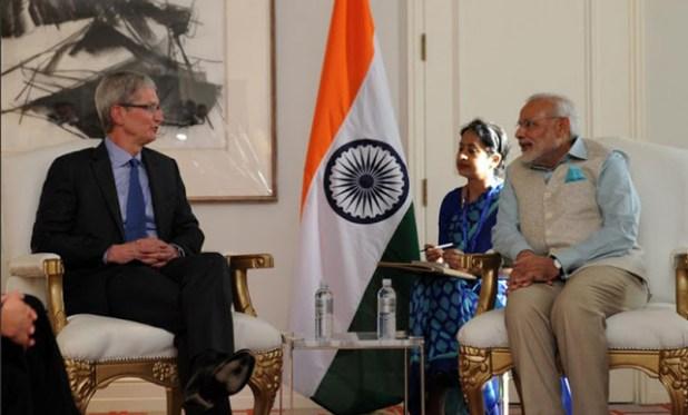 Narendra-Modi-Tim-Cook-Twitter-Narendra-Modi