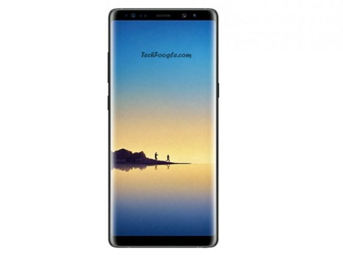 Galaxy Note8 Black Leak Techfoogle