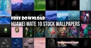Free Download Huawei Mate 10 Stock Wallpapers