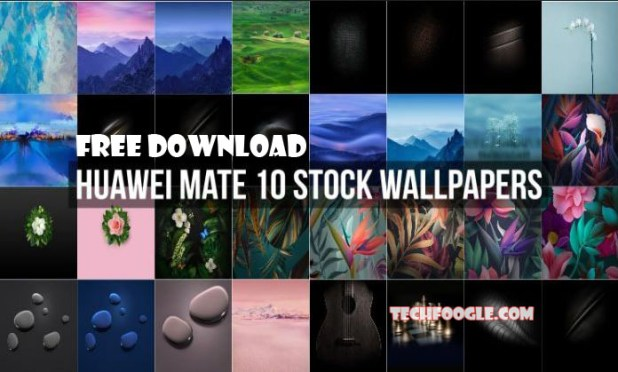 Free Download Huawei Mate 10 Stock Wallpapers