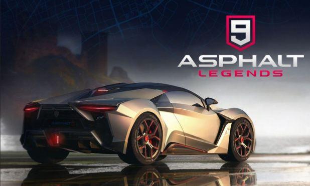 Asphalt 9: Legends Available for Pre-Registration
