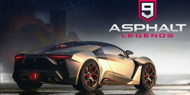 Asphalt 9: Legends Available for Pre-Registration