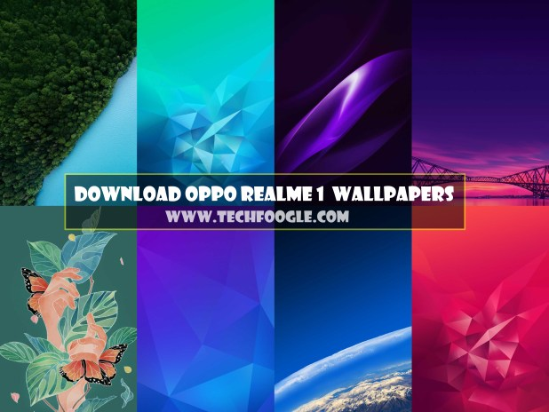 Oppo Realme 1 Stock Wallpapers