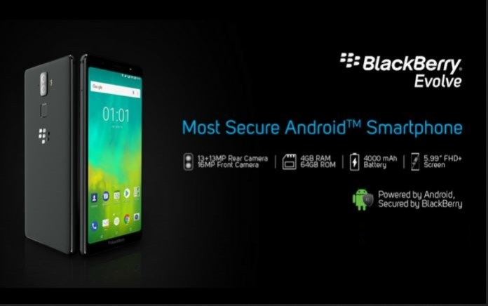 BlackBerry Evolve and Evolve X Launched in India, Price and Features
