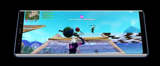 fortnite on note 9