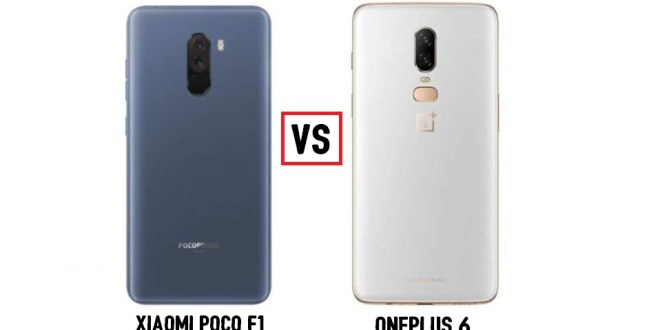 Xiaomi Poco F1 vs OnePlus 6: What's The Difference?