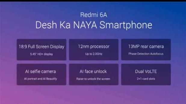 Redmi 6A Processor