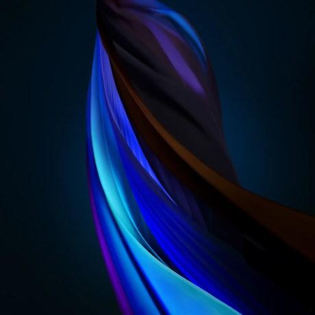 Silk_Blue_Dark- iPhone SE 2020 - TechFoogle