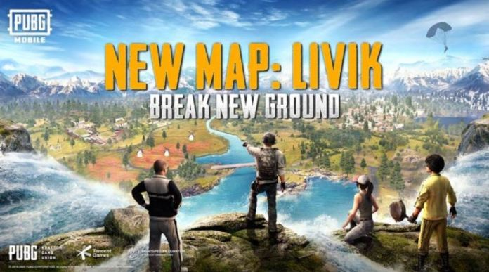 pubg mobile livik map update