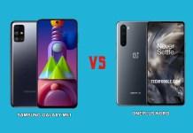 OnePlus Nord Vs Galaxy M51